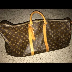 Auth Louis Vuitton keepall bandouliere 55 M41414